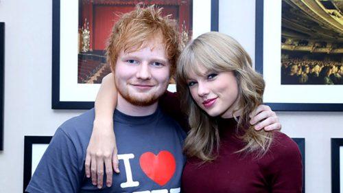 Ed sheeran con taylor swift