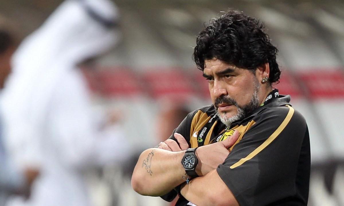 Periodista rusa acusó a Maradona de acoso sexual