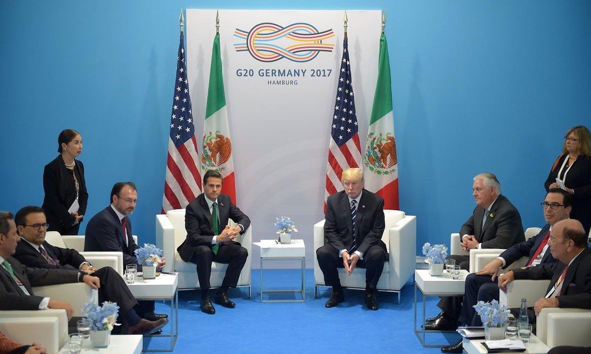 Trump recuerda Peña que deberá pagar por el muro