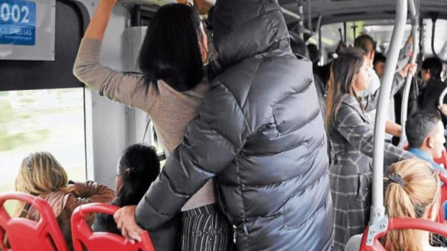 Acosos sexuales en el trasnporte público