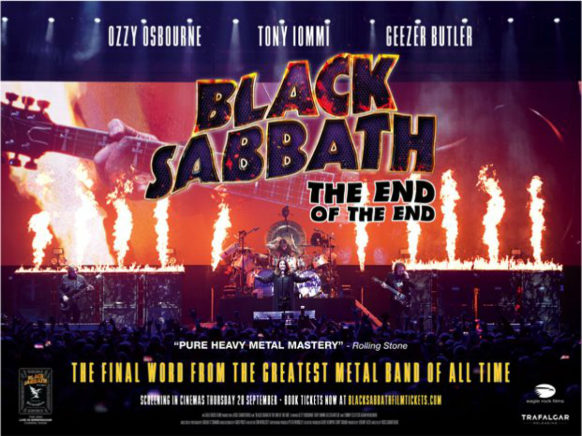 The End Of The End, el adiós de Black Sabbath llega al cine