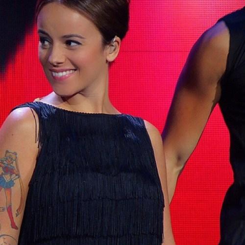 La cantante Alizée