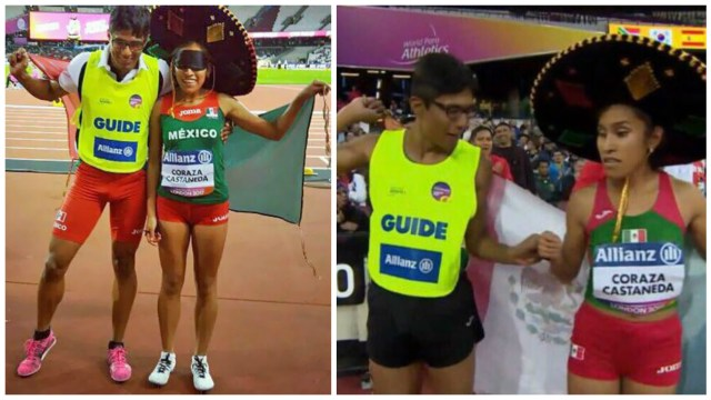 Diana Coraza gano oro para México