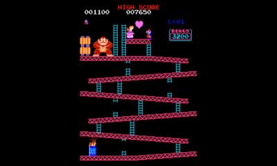 Donkey Kong, Pauline y Mario (Jumpman)