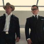 Channing Tatum y Taron Egerton en Kingsman: The Golden Circle