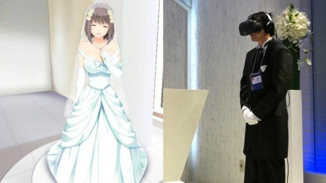 Una boda en VR con una waifu