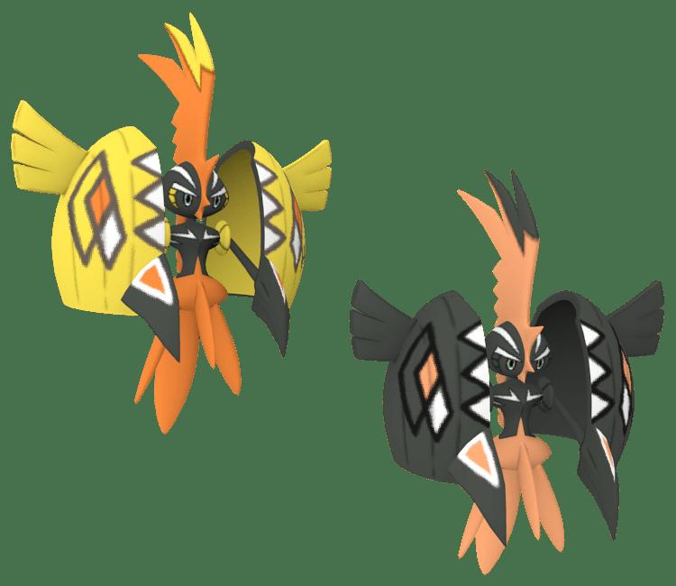 Pokémon Legendario, Tapu Koko shiny