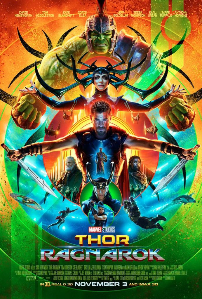 Póster de Thor: Ragnarok revelado en la Comic-Con