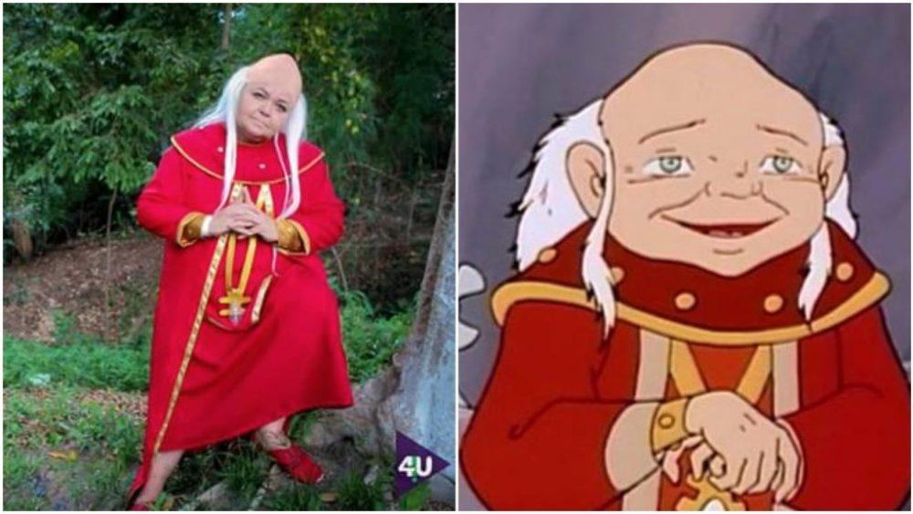 Dungeon Master, cosplay de Tia Sol