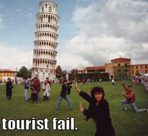 Torre de Pisa, Torre, Pisa, Foto, Fotografía, Turistas