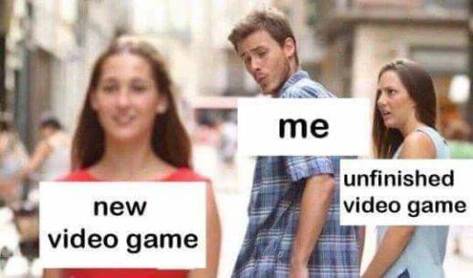 meme novio distraido videojuegos