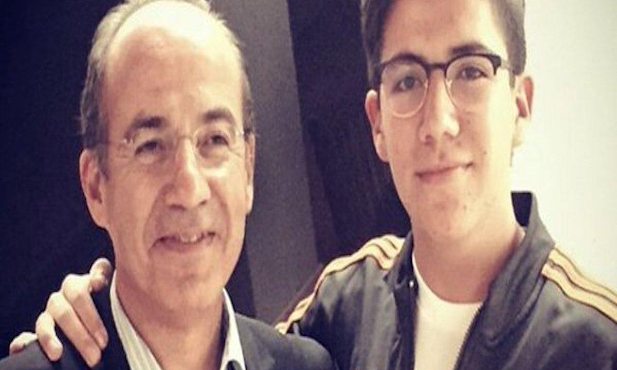Hijo ex presidente Calderón disturbios Playa del Carmen