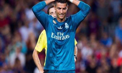 Cristiano Ronaldo suspendido cinco partidos empujar árbitro