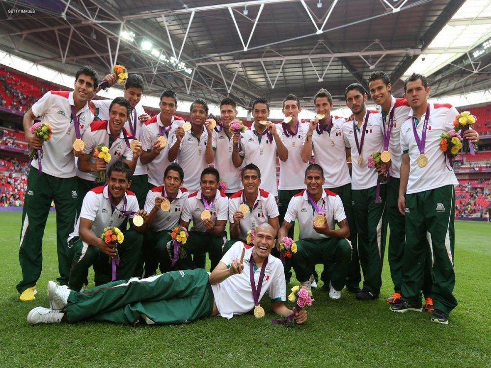 Cinco años Selección Mexicana medalla de oro