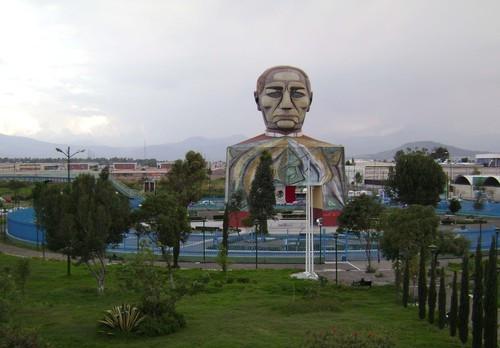 Cabeza de Juárez en Iztapalapa, Ciudad de México