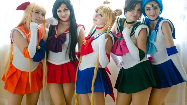 Día Internacional de Sailor Moon cosplays