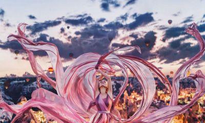 Kristina Makeeva crea fantasías con sus fotos
