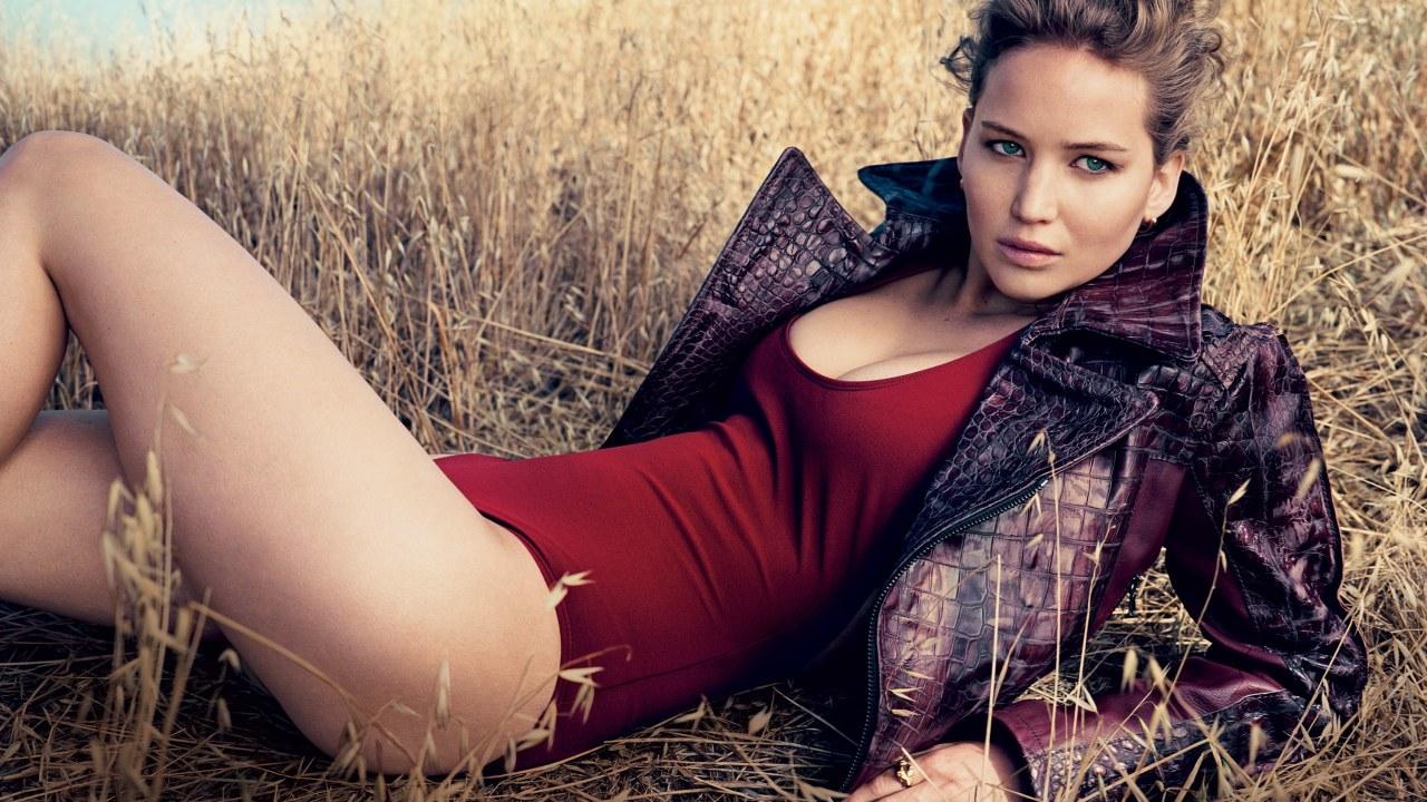 Jennifer Lawrence en la portada de Vogue