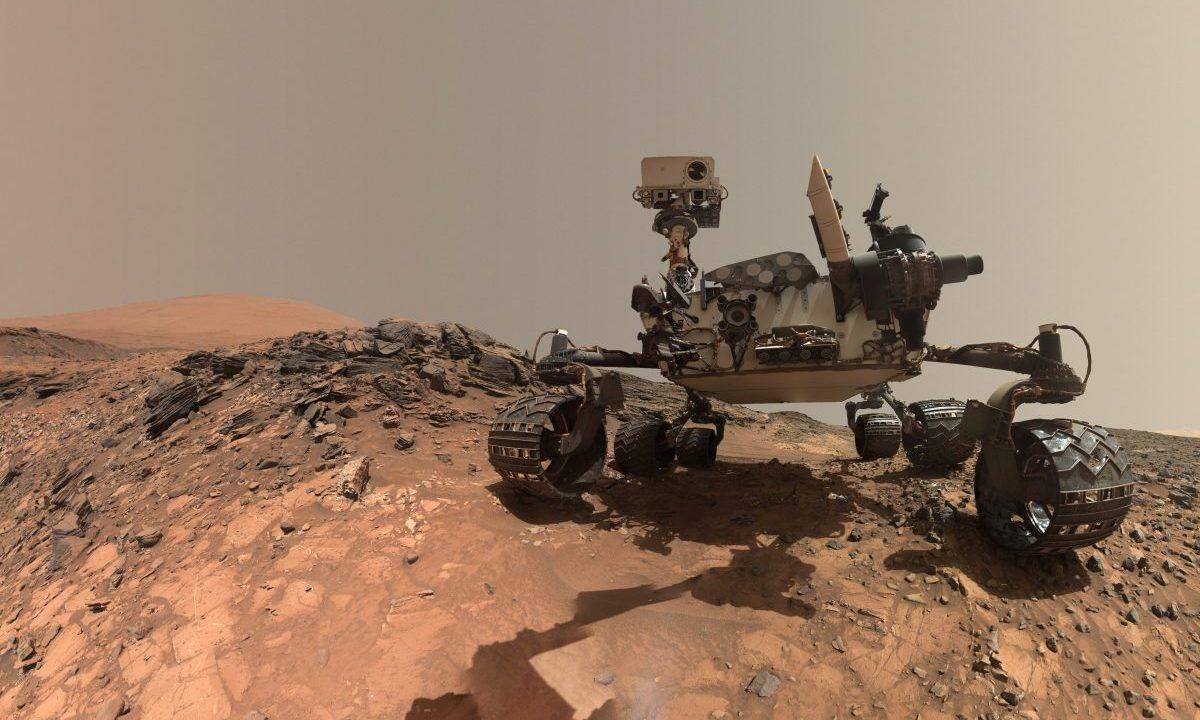 El Curiosity rover de la NASA en Marte