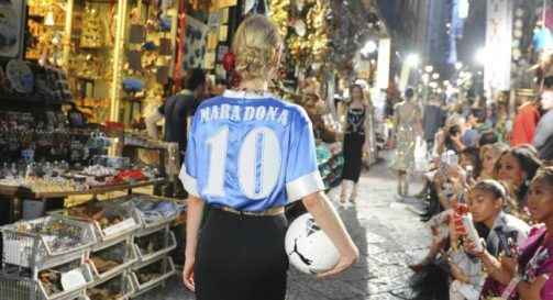 Playera del Napoli Dolce and Gabbana