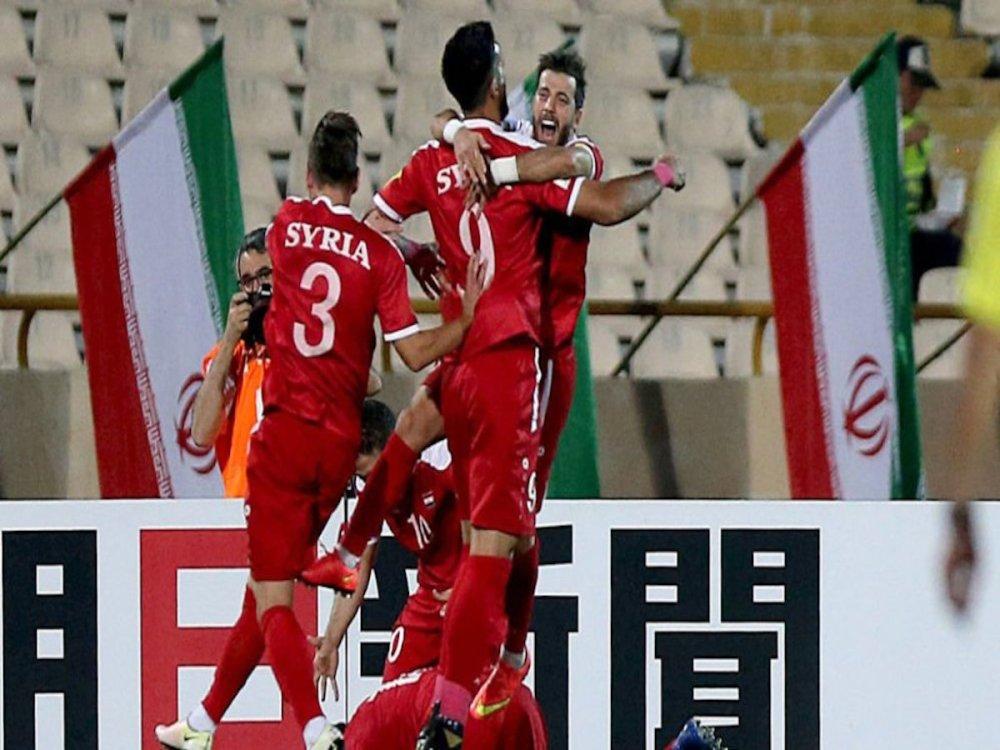 Siria jugar su primer Mundial de futbol