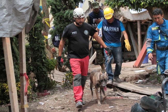 Rescate de personas en México