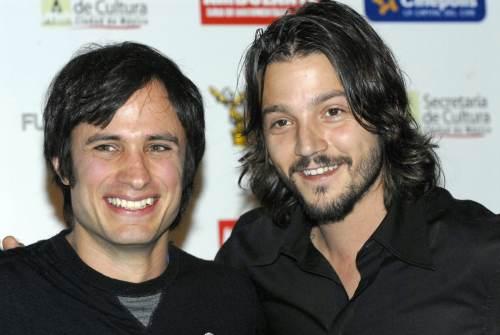 Actores mexicanos Gael García Bernal y Diego Luna