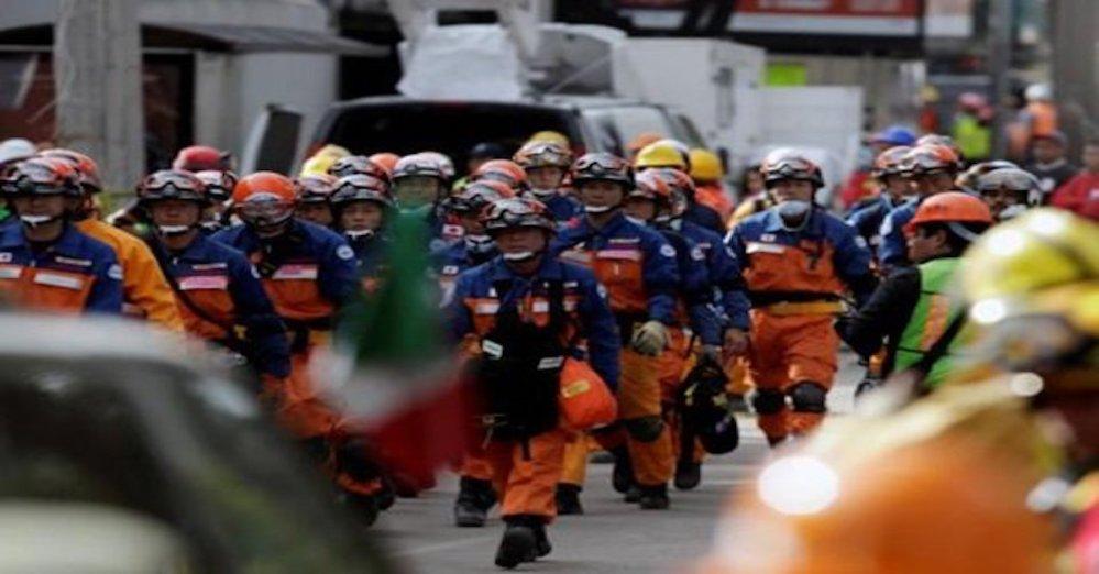 Noticia rescatistas japoneses retiraron de México falsa