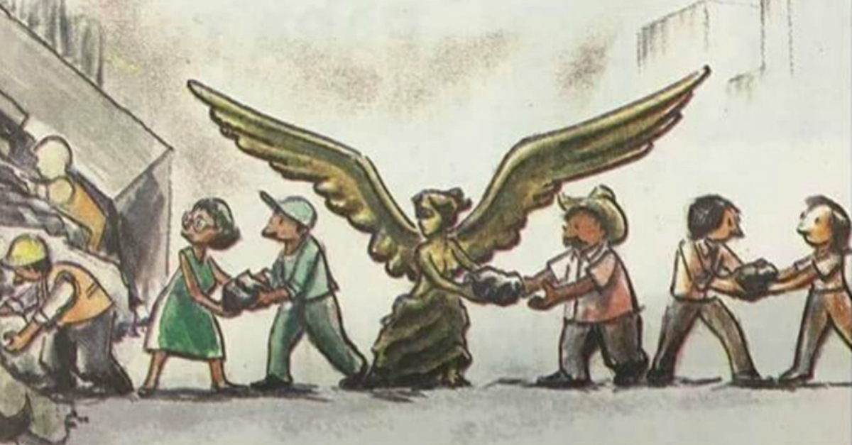 Ilustraciones Sismo CDMX, Arte Sismo CDMX, Ilustraciones, Sismo, Artistas, México