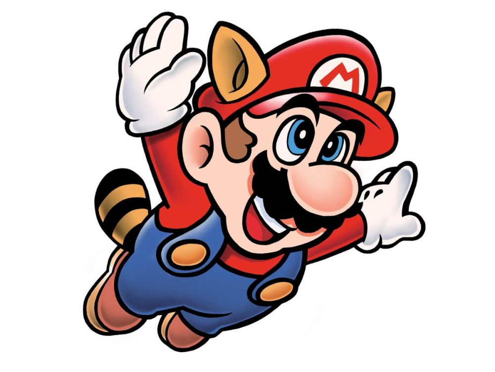 Mario mapache ya no es plomero de profesión