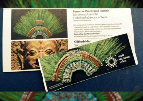 Penacho de Moctezuma, Moctezuma, Penacho, Aztecas, Austria, Museo
