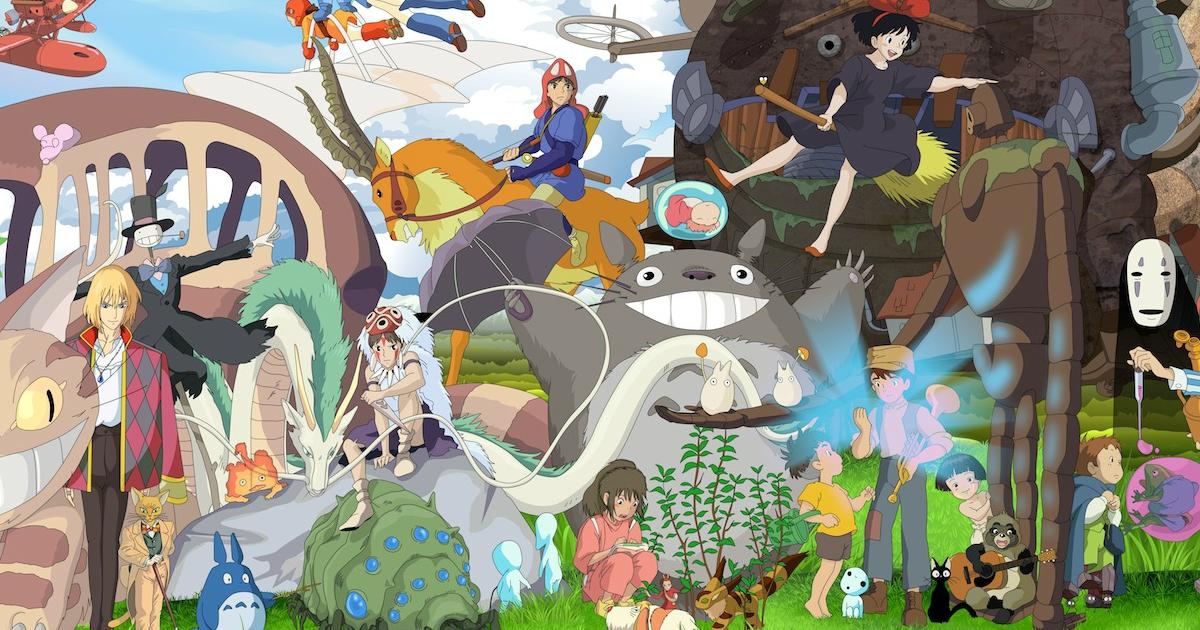 Miyazaki, Chihiro, Totoro, Kiki, Ghibli, Anime