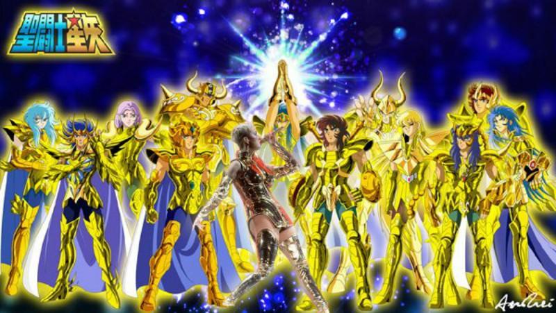 Katy Perry ya se viste como un Caballeros del Zodiaco