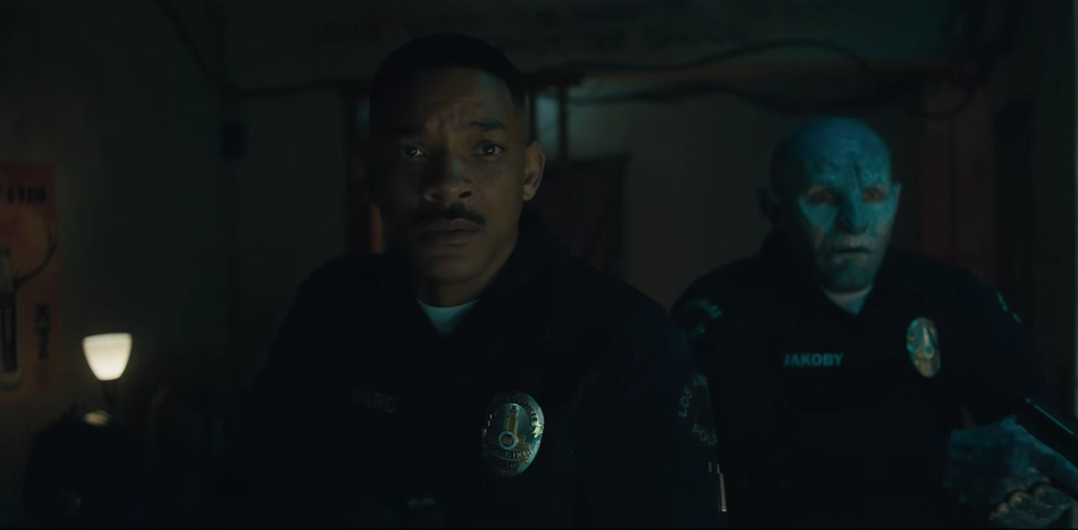 Will Smith, Joel Edgerthon, Elfos, Netflix, Películas, Bright
