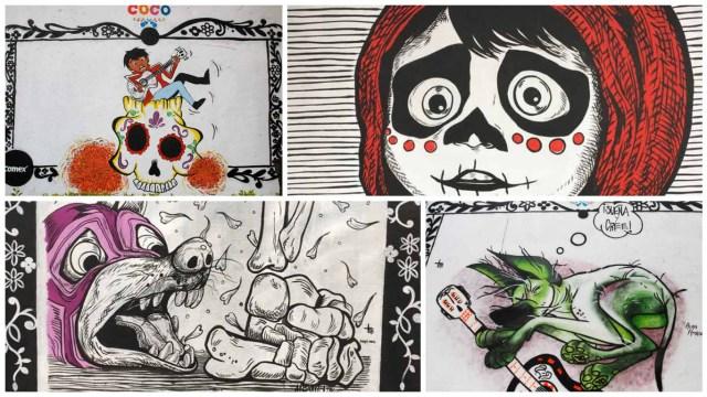 Grafitero, Tuyi, Coco, Pixar, Disney, 19S