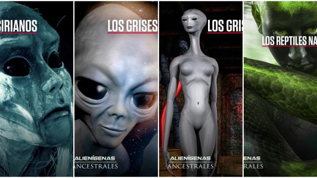Los aliens que podrían invadir la Tierra según The History Channel