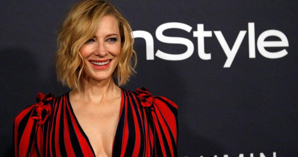 Cate Blanchett fue reconocida como Ícono de Estilo por InStyle