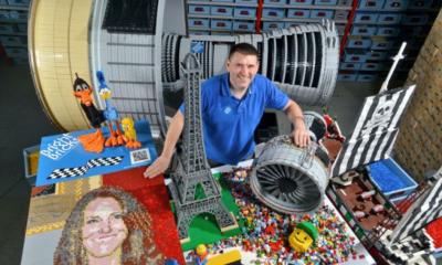 El trabajo perfecto es ser un constructor certificado de Lego