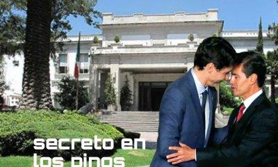 Secreto en los Pinos, meme Justin Trudeau y Enrique Peña Nieto