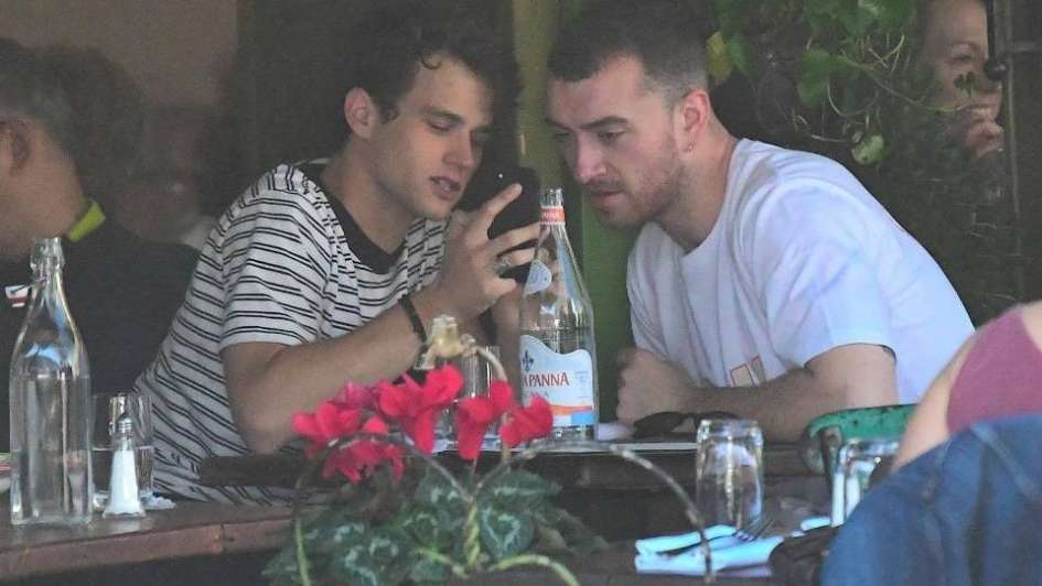 Sam Smith tiene un romance con Brandon Flynn de 13 Reasons Why