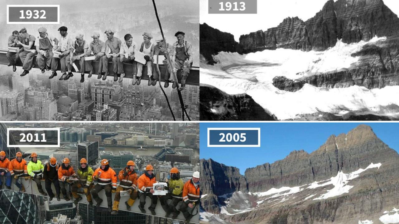 Antes, Después, Fotografías, Mundo, Planeta, Cambio, Europa