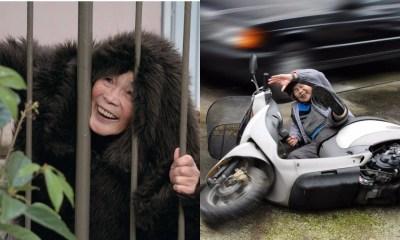 Fotografía, Anciana, 89 años, Japonesa, Divertida, Mujer