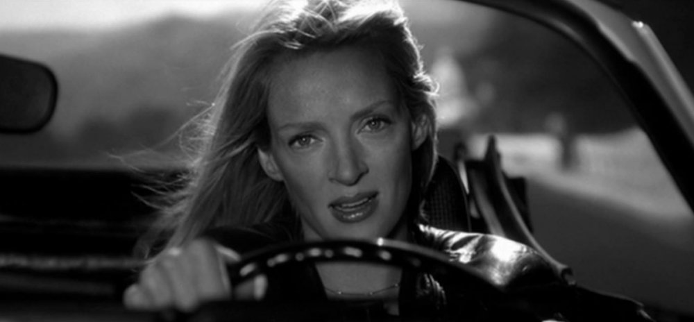 Uma Thurman como Beatrix Kiddo en Kill Bill