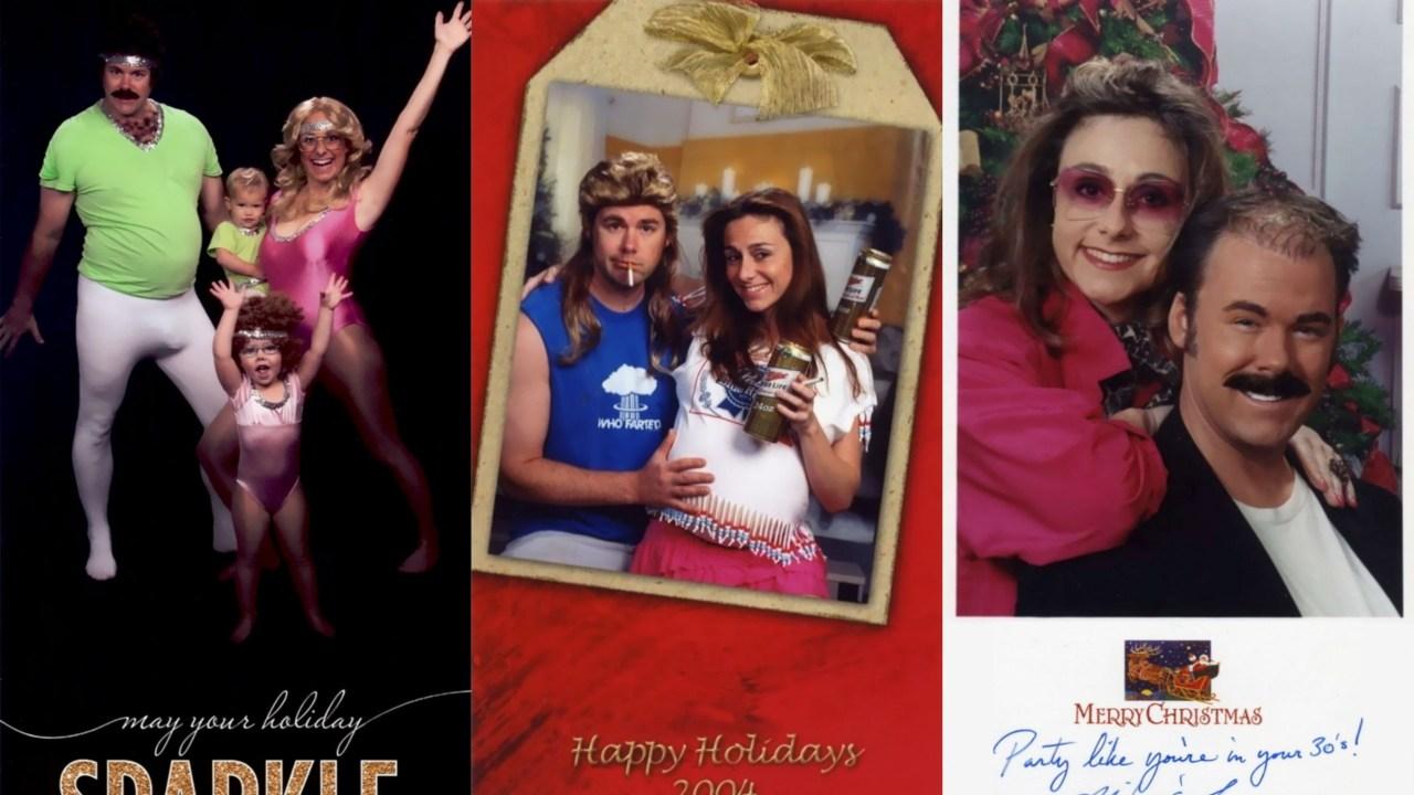Familia, Navidad, Postales, Fotos, Bergeron, Regalo