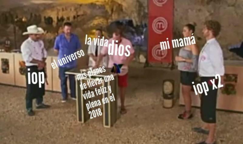 Los memes de Pablo en la semifinal de MasterChef