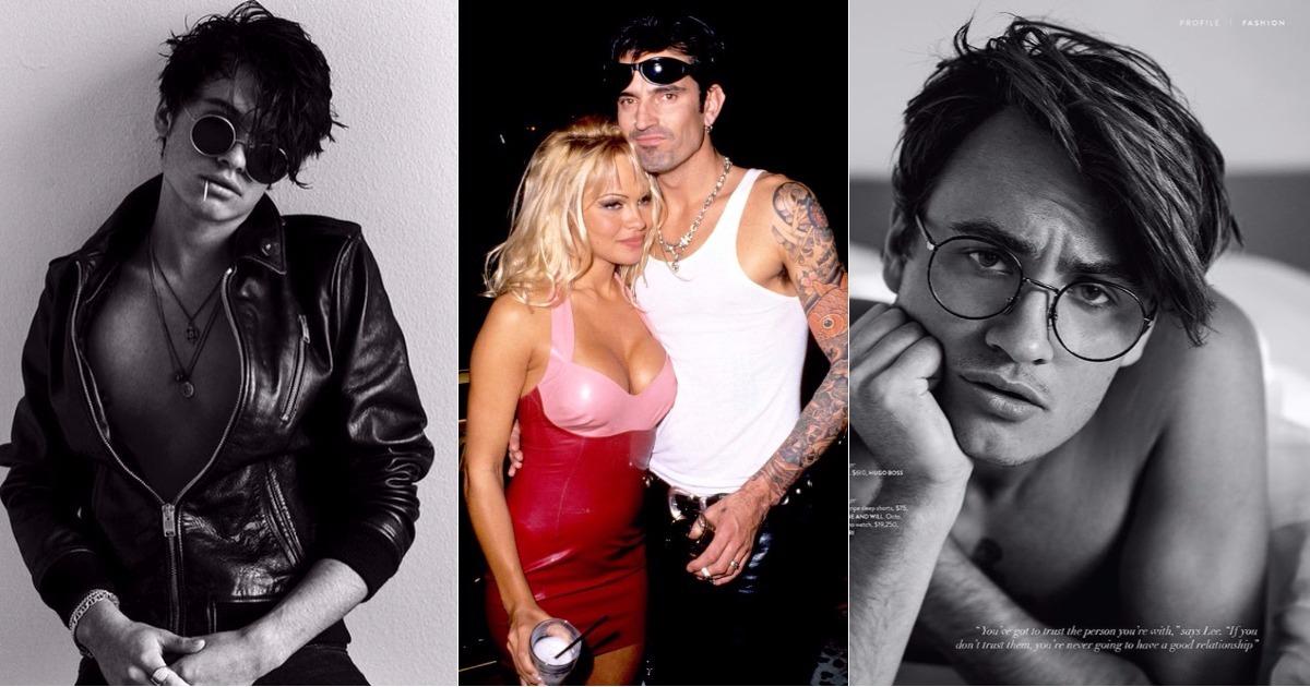 Los hijos de Pamela Anderson y Tommy Lee