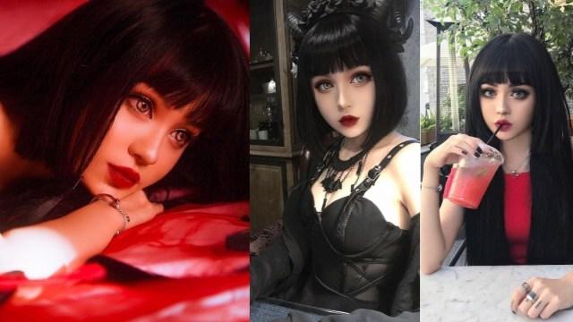 Kina Shen, modelo china apodada la muñeca viviente