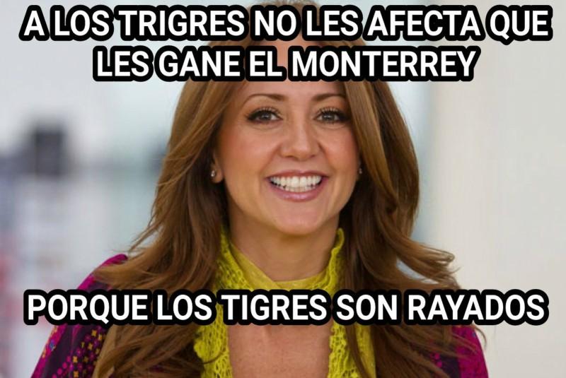 Memes están asándose para la final entre Tigres y Rayados