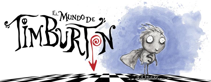 Exposición Mundo de Tim Burton