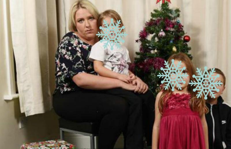 Critican a madre por comprar regalos con dinero del gobierno